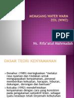 Memasang Water Warm Zeil