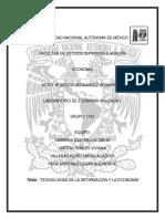 Tecnologías de La Información y Economía Parte x