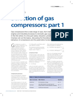 Selection of Gas Compressors