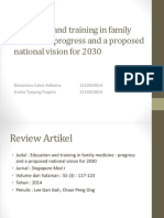 Education and Training in Family Medicine Fixxx