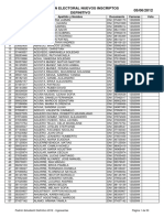 Padron Definitivo Alumnos 2012 Argentina