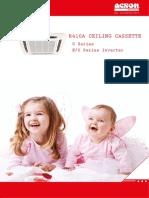 CAT Ceiling Cassette R410A
