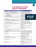 List of Accrediated 149 New Materialsfe9c9416-3f77-40a6-af34-3e6b1a843064.pdf