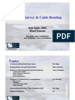 Marine Survey & Cable Routing Report