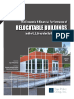 The Economic & Financial Performance of Relocatable Buildings in USA_Jan12