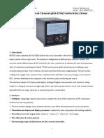 PHG-2091D2 Dual-Channel PH TDS Conductivity Meter