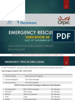 Emergency Rescue Drill
