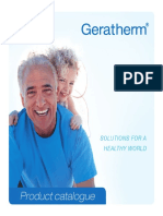 Product catalogue Geratherm Ultimo
