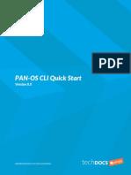 Pan Os Cli Quick Start