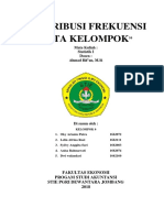 Distribusi Kepompok Revisi Kel 6
