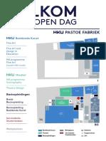 Programma Open Dag Beeldende Kunst 2018