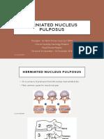 Herniated Nucleus Pulposus (HNP)