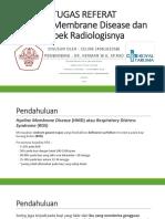 PPT Referat HMD atau RDS dan Aspek Radiologisnya