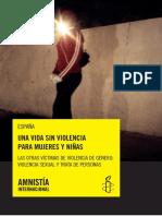 Informe Violencia de género