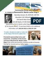 MLK Event & Fundraiser