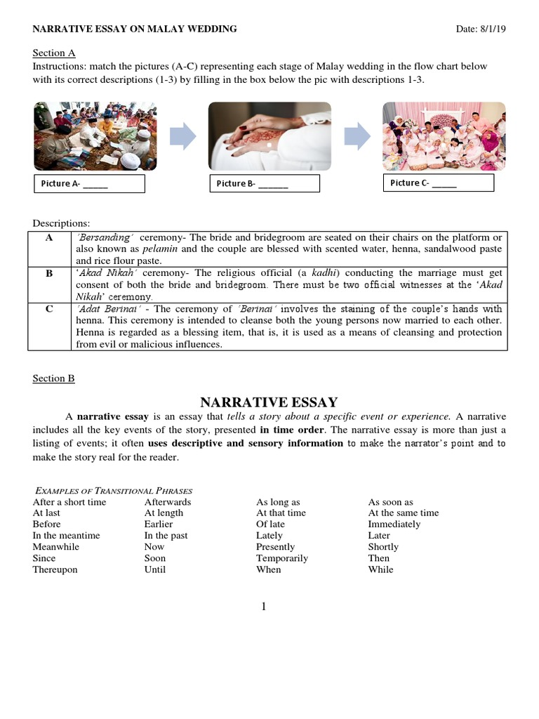 malay wedding ceremony essay