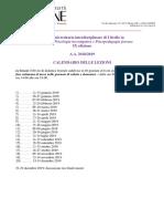 IUSVE Master Criminologia Calendario Nona Ed 18 19