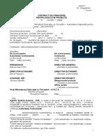Contract de Finantare Pt Proiecte