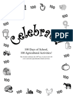 100 Days of School, 100 Agricultural Activities.pdf
