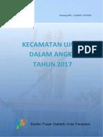 Kecamatan Ujung Dalam Angka 2017