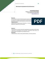 Manual para la organización de una hemeroteca