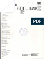 Alfred Reed Suite 1 for band