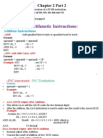 Chapter 2 Instruction Sets of 8086 Part 2