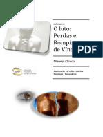 O luto - Perdas e Rompimento de Vínculos_ manejo clínico. pdf