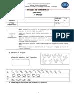 Evaluación de Matemáticaunidad 1