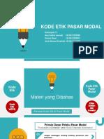 PPT Kode Etik Pasar Modal