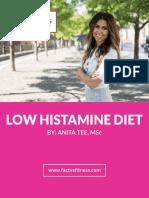 Low Histamine Diet eBook Final3