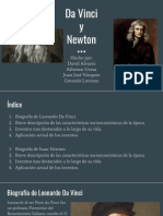Da Vinci y Newton