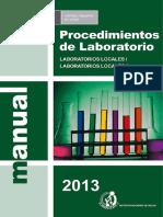 PROCEDIMIENTO DE LAB. MINSA 2013.pdf