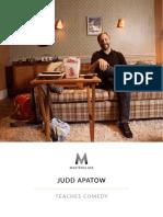 Judd Apatow - Masterclass on Comedy Workbook