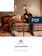 Judd Apatow - Masterclass on Comedy Workbook