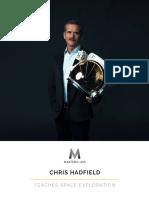 Chris Hadfield  Teaches Space Exploration - Workbook