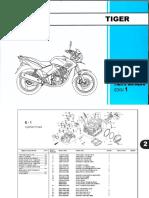 Katalog Suku Cadang Honda Tiger Revo