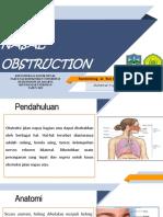 Referat Obstruksi Nasal ppt
