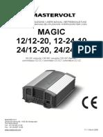 Manual Mastervolt Magic 12;12-20