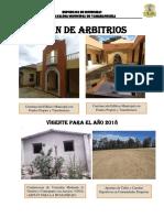 Plan de Arbitrios 2018
