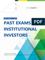 Past Exams CFA3 Ins Investors 2008-2014