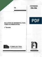 730-75 Métodos de Ensayo Para Lámparas Tubulares Flurorescentes Para Alumbrado General