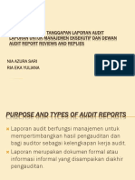 Ppt Audit Report