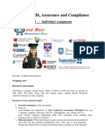 HI6026 – Audit, Assurance and Compliance