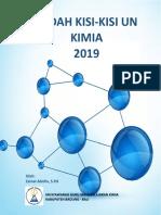 Bedah Kisi-Kisi UN Kimia 2019 - Zainal - Bali Rev 060119