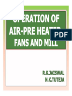 28.02.2014 Operation of Fans and Mill