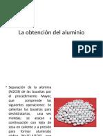 Aleaciones y Obtencion Del Aluminio