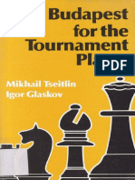 Tseitlin, Glaskov_The Budapest for the Tournament Player(1992)