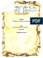 Derecho Constitucional III FINAL