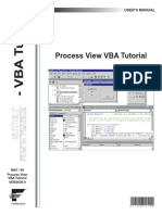 Process View VBA Tutorial